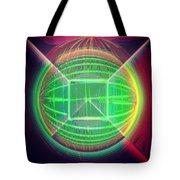 Shiny Globe Tote Bag