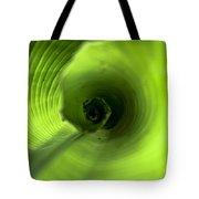 Shiny Green Plant Tote Bag