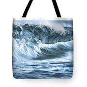 Shiny Wave Tote Bag