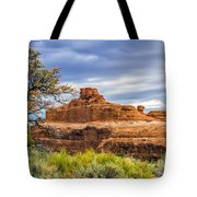 Ship In The Desert Tote Bag