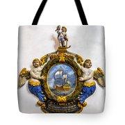 Ship Memorial Tote Bag