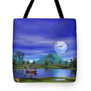 Ship Of Fools Tote Bag