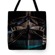 Ship Of Yesteryear Tote Bag