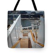 Shipboard Stairways Tote Bag