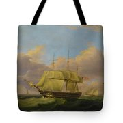 Shipping Off The Eddystone Tote Bag