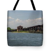 Shipping Terminal Tote Bag
