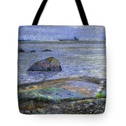 Ships And Stones Tote Bag