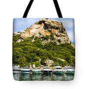 Ships Collection To Italian Harbor Tote Bag
