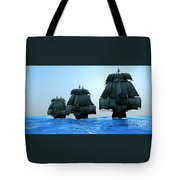 Ships In Sail Tote Bag