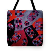Ships Of The Seven Seas Tote Bag
