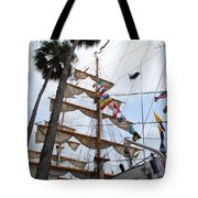 Ships Palm Tote Bag
