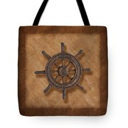 Ship's Wheel Tote Bag
