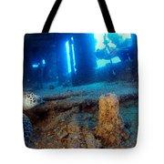 Shipwrecked Turtle Tote Bag