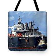 Port Of Amsterdam Tote Bag