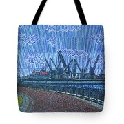 Shipyards A Newport News Tote Bag