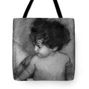 Shirtless Baby Tote Bag