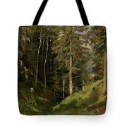 Shishkin, Ivan 1832-1898 Forest Clearing Tote Bag