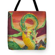 Shivan Dragon 3.0 Tote Bag