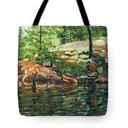 Shoal Lake - Granite Shore Tote Bag