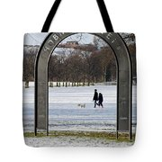 Shobnall Fields - Arch Sign Tote Bag
