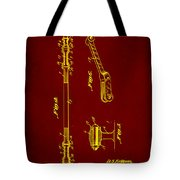 Shock Absorber Patent Drawing 2f Tote Bag
