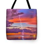 Shocking Pinks Sunset Tote Bag