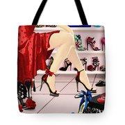 Shoe Biz Tote Bag