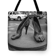 Shoe Sculpture Grand Junction Co Tote Bag
