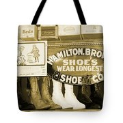 Shoe Shopping In The 30's Tote Bag