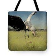 Shoebill Landing Tote Bag