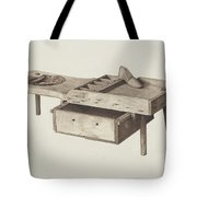 Shoemaker's Bench Tote Bag