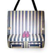 Shoes In A Beach Chair Tote Bag