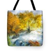 Shohola Falls Autumn Tote Bag