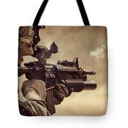 Shooter Tote Bag