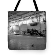 Shooters Alley Tote Bag