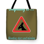 Shooting Bigstock Donkey 171252860 Tote Bag