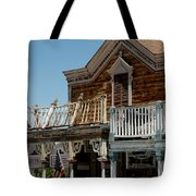 Shooting Gallery Virginia City Nv Tote Bag