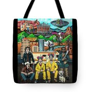 Shooting Stars In New Mexico Tote Bag