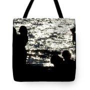 Shooting Sunset Tote Bag
