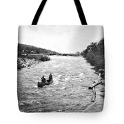 Shooting The Rapids In Maine Tote Bag