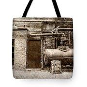 Building At Sloss Tote Bag