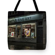 Shop Window In Covent Garden Tote Bag