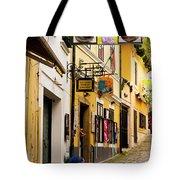 Shopping In Szentendre Tote Bag