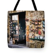 Shopping In Tuscany Tote Bag