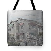 Shopping Mall Laguna Hills Tote Bag