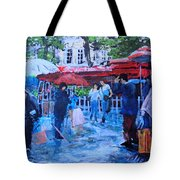 Shopping Montmartre Tote Bag