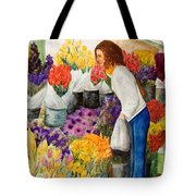 Shopping Pike's Market Tote Bag