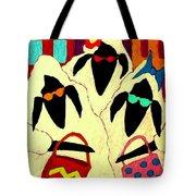 Shopping Sheep Divas Tote Bag