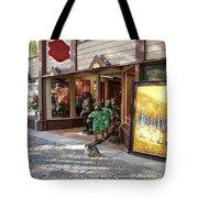 Shopping Street Tote Bag