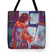 Shopping The Art Fair Tote Bag